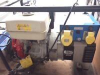 STEPHILL 5000HMS 5KVA / 4KW HONDA GX270 PETROL GENERATOR