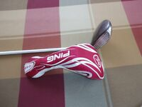 Ladies Left Handed Ping 3 Fairway Wood