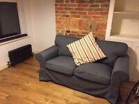 Two-seat Sofa - IKEA EKTORP - Dark Grey