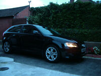 Audi A3 1.9tdi Sport 3 door black