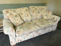 Alston Three seater Sofabed & armchair