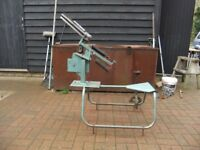 CLAY PIGEON TRAP MADE OF METAL IN GOOD CONDITION READY TO GO £58