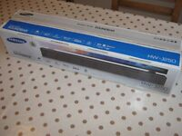 Samsung HW-J250 80W sound bar with built-in subwoofer (2016) Boxed as new + WARRANTY