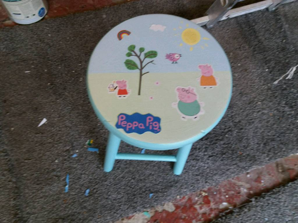 Fine Kidspeppa Pig Stool In Darlington County Durham Gumtree Pabps2019 Chair Design Images Pabps2019Com