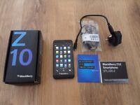 Blackberry Z10 Smartphone on Vodafone