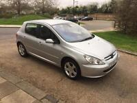PEUGEOT 307 SE AUTO 2005 5 DOOR ONLY DONE 68k. YEAR MOT.FULL LEATHER DRIVES PERFECT