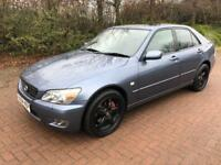 1 year mot Lexus IS200 sport 6 Speed manual low miles 87000 FSH