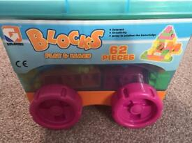 Goldkids Blocks play & learn bricks