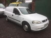 Vauxhall Astra van 1.7 dti 2003 mot Jan 18 bargin £695 choice of 2