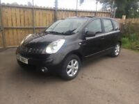 2008 NISSAN NOTE 1.4 ACENTA # FULL YEARS MOT # ECONOMICAL # NISSAN RELIABILITY #