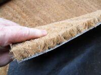 hardwearing coir entrance mat