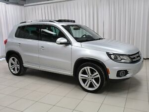 2014 Volkswagen Tiguan Highline R-Line Package! Leather! PanoRoo