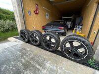 VW Transporter sport line T32 Alloys & Tyres