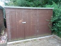 8 x 10 Foot Pent Shed