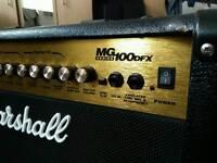 Marshall amp mg 100 dpx