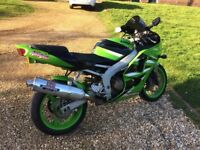 Kawasaki zx6r J2 2001 low mileage