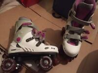 Size 5 quad roller boots