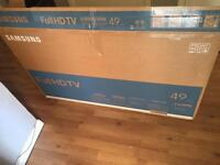 49 inch full hd Samsung tv. New** ex display from currys