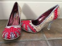 NEW with box. Union Jack Ladies Shoes. Really lovely shoes. Size 4 (37). Collect Totton
