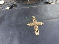 Beautiful gold cross