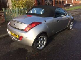 FORD STREETKA,2003,SOFT TOP,ONLY 75000m, MOT AUGUST 2018