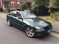 2004/04 REG LEXUS IS200 SE ** NEW CLUTCH FITTED ** £1895