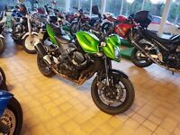 Kawasaki Z750 2009 ABS Green Black Z 750