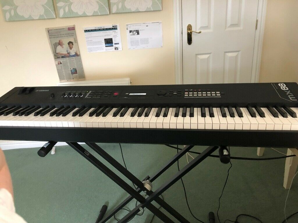 Yamaha MX88 Synthesizer Hardly Used !! Two Months Old | in Redditch,  Worcestershire | Gumtree
