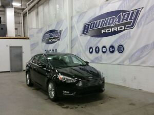 2016 Ford Focus Titanium W/ Heated Leather, Remote Start,Sunroof