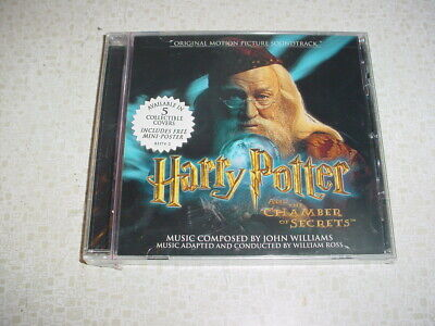 RARE + NEW Harry Potter And The Chamber Of Secrets CD Albus Dumbledore