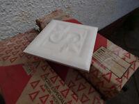 Cream Marbled Ceramic Tiles