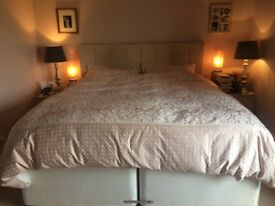 Super King Bed. Very good condition, beautiful mattress, head board included
