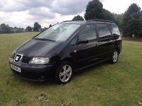 2008/58 New Spec Seat Alhambra 2.0 TDi PD Reference 6 Speed 7 Seater