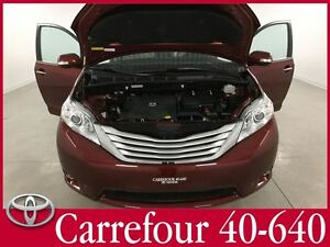 2013 Toyota Sienna Limited AWD GPS+DVD+Cuir+Toit Panoramique