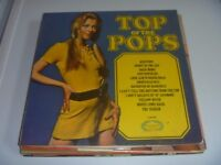 COLLECTION OF 13 LPS - COVER BANDS / TOP OF THE TOPS ETC