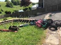 Fishing rods,reels,nets,tackle much more for sale