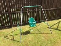 2in1 Garden Swing for toddlers and kids