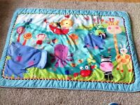 Beautiful baby play mat with toys