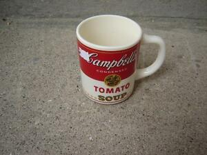 ANTIQUE CAMPBELL'S SOUP METAL TRAY, MUGS,THERMOS& METAL PICTURE London Ontario image 2