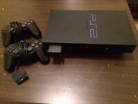 PlayStation2 with games and films