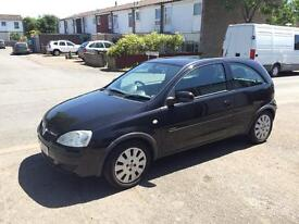 Vauxhall Corsa Black