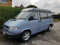 VW Autosleeper Trooper Camper van, 2.5 TDI, manual, Year 2000, rare nebio blau colour