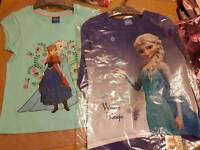 2 Frozen tops brand new. Size 6-7