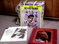 RICHARD TAUBER - job lot of 33 vinyl LPs / box sets