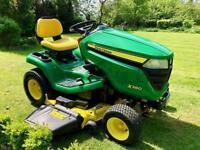 "John Deere X380 Ride On Mower - 48"" Deck - Mulch kit - like new - Lawnmower - countax/Kubota"