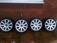 Audi VW RS4 alloy wheels 18 inch