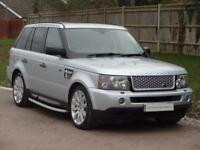Land Rover Range Rover Sport Tdv8 Sport Hse (silver) 2007