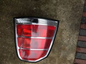 Vauxhall zafira 1.9 d n/s/r light unit