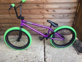 Mafia Bike BMX, Purple and green 20 inch Madmain