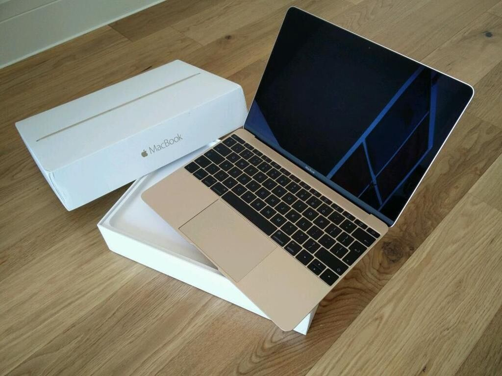 Gold Apple Macbook Retina 2016 12 Quot 1 2ghz 8gb 256gb
